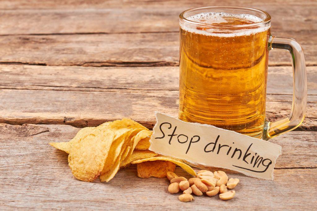 stop beer